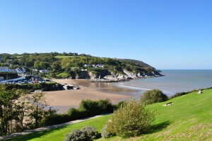 Beaches at Aberporth, West Wales